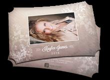 Elegant Floral Grad Cards