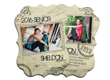 Postcard Grad Card