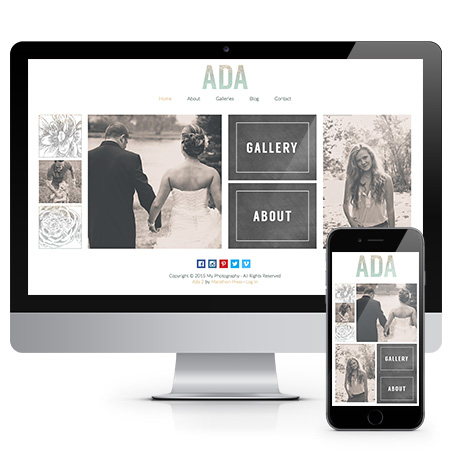 Ada  Ada Premier Website for Photographers