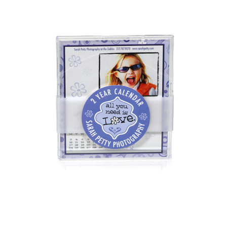 BG002  24 mo. CD Case Calendar with Belly Band and Band Tag