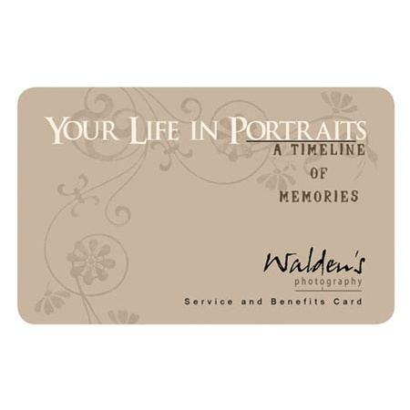 BG090  Your Life In Portraits Membership Card