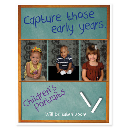P1077  Capture Those Early Years Prepay Flyer