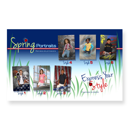 P1085  Spring Portraits - Express Your Style
