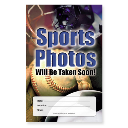 P1108  Sports Photos Will Be Taken Soon Poster