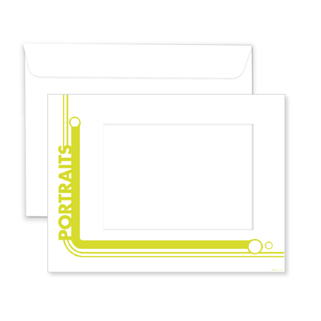 P1117  Portrait Window Envelope