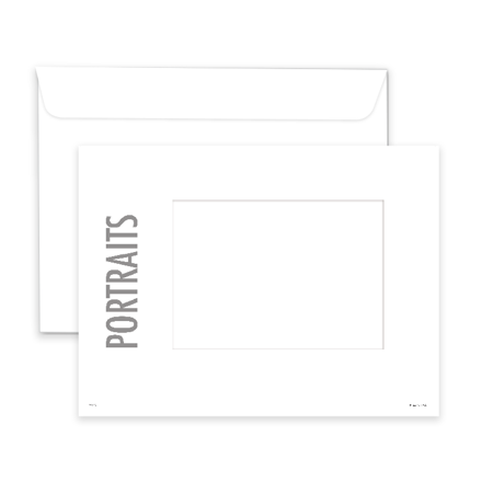 P1118  Portrait Window Envelope