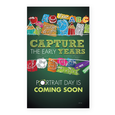 P1124  Capture the Early Years, Children's Portrait Day Prepay Flyer