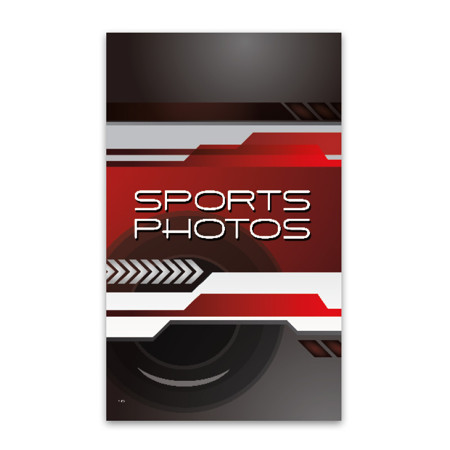 "P1170  Sport Photos Prepay Flyer-5"" Pocket"