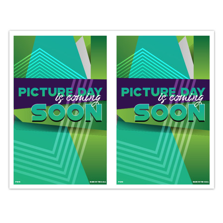 P1214  Picture Day is Coming Soon 2-Up Picture Day Notice