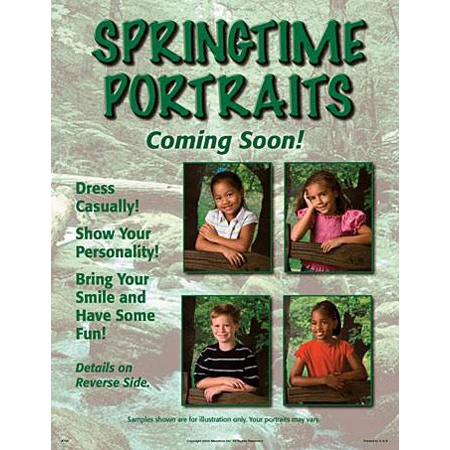 P796  Springtime Portraits Picture Day Notice