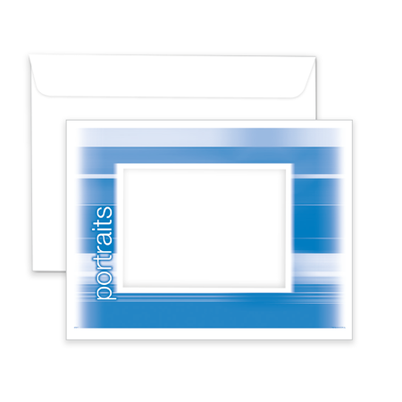 P807  Portrait Window Envelope