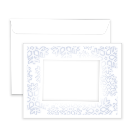 P809  Holiday Window Envelope