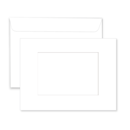 P824  Blank Window Envelope
