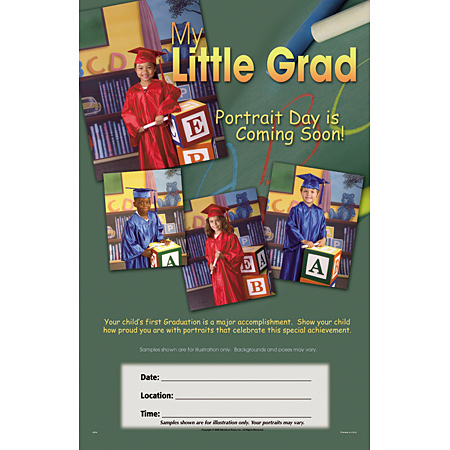 P934  Little Grads Mini Poster
