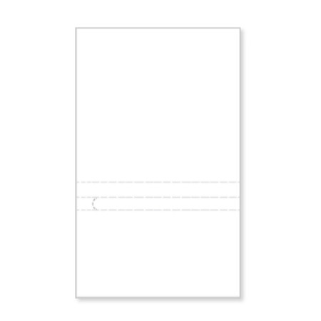 "P961  Blank Prepay Flyer 5"" Pocket"