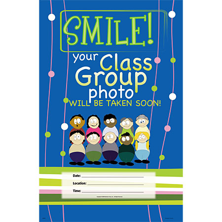 P975  Cartoon Smile Poster