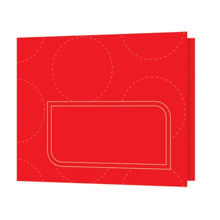 PBG252  Note Card Red