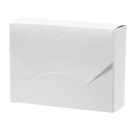 PBG374  White Pearl Wallet Box