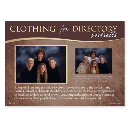 PCD1070  Clothing for Directory Portraits