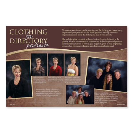 PCD1071  Clothing for Directory Portraits