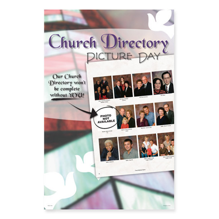 PCD1075  Celebrating Faith Church Directory Poster
