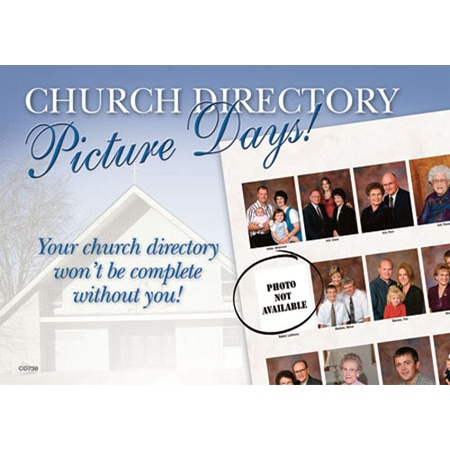 PCD738  Church Picture Appt. Card