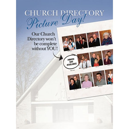 PCD739  Church Directory Poster