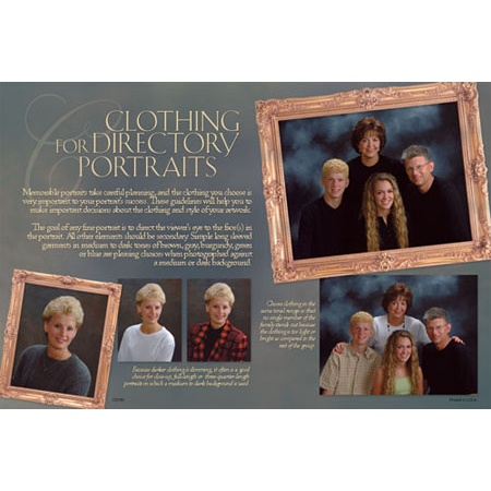 PCD780  Church Directory Clothing Card