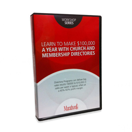 Psedvd4  Learn to Make $100,000 a Year with Church and Membership Directories