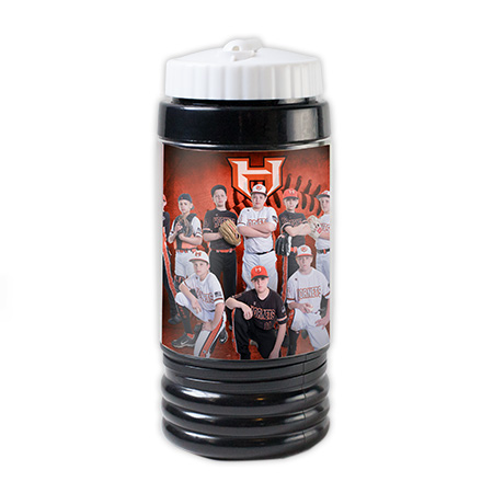 SB_Black  Photo Sports Bottle