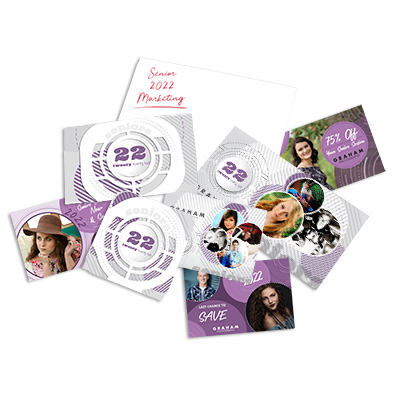SeniorBoth  Senior Grad Card Sales Kit & Senior Marketing Sample Pack