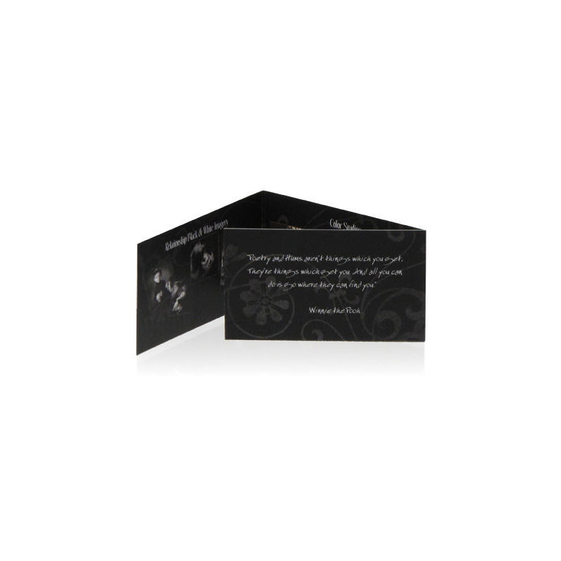 BG Trifold Business Cards Tim Beverly Walden General Collection - Tri fold business card template